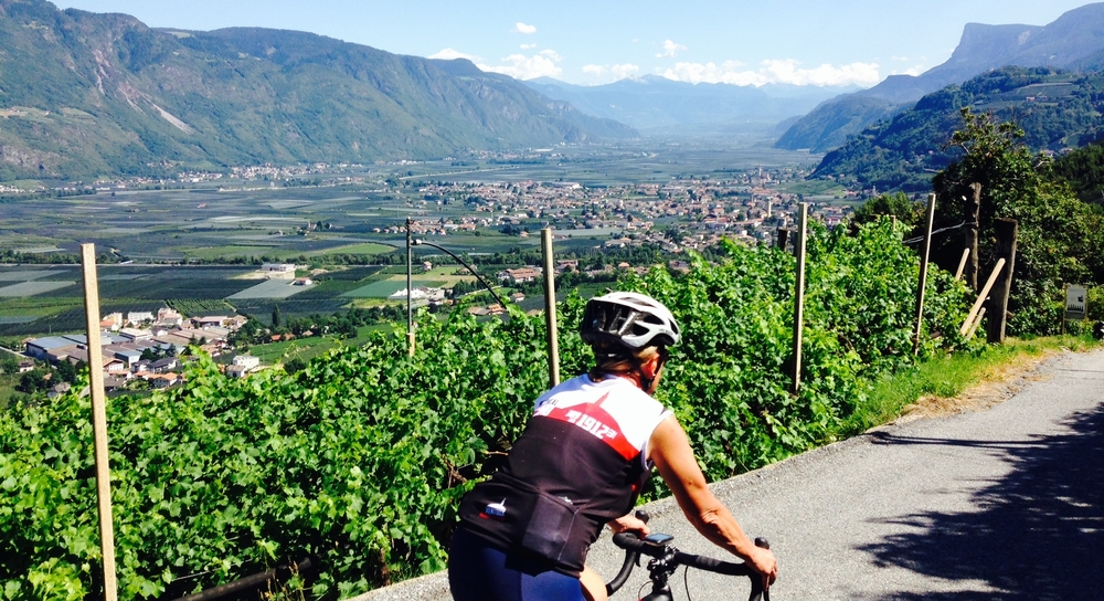 Day 5: cycling towards Bolzano