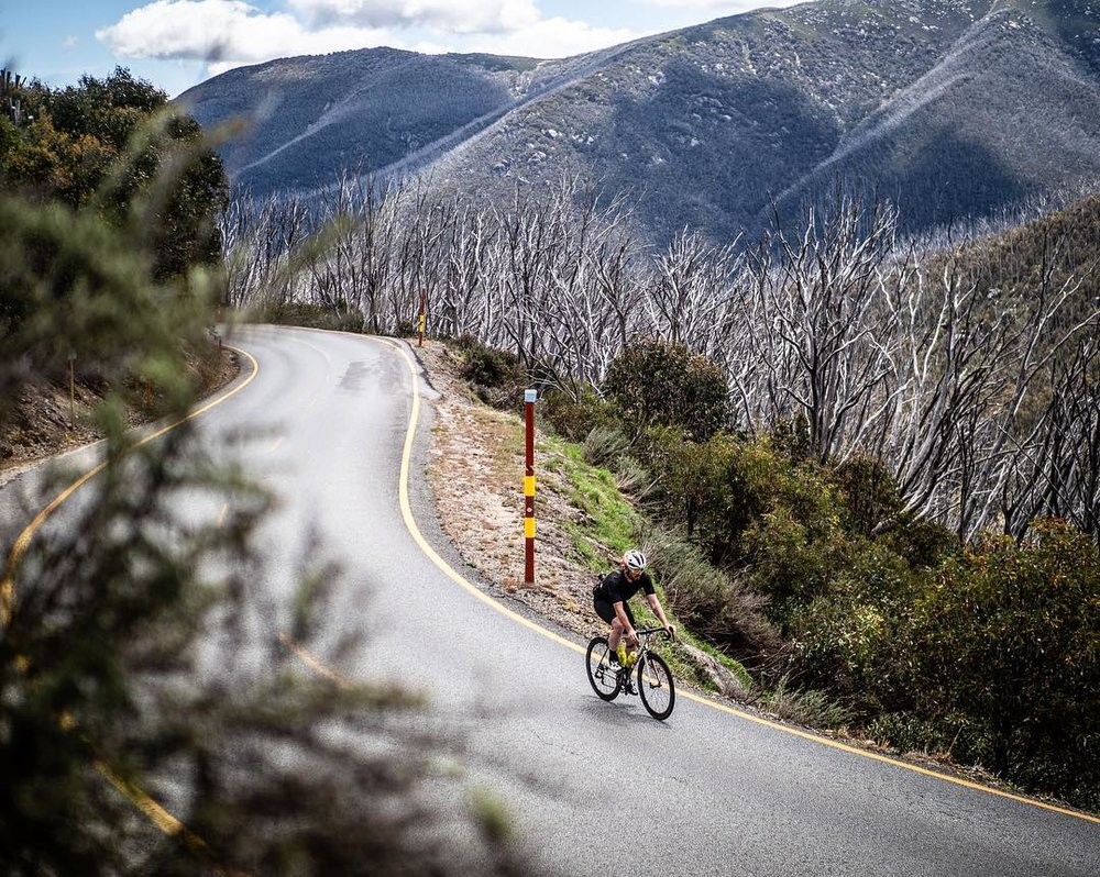 The final kilometre of Falls Creek. Photo Credit: Beardy McBeardy
