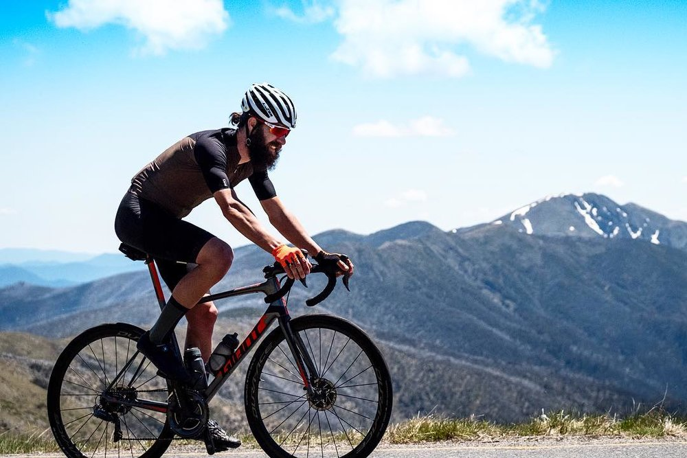 Beardy smashing Mt Hotham in sub 1:30!!! Photo Credit: Bob Barrett