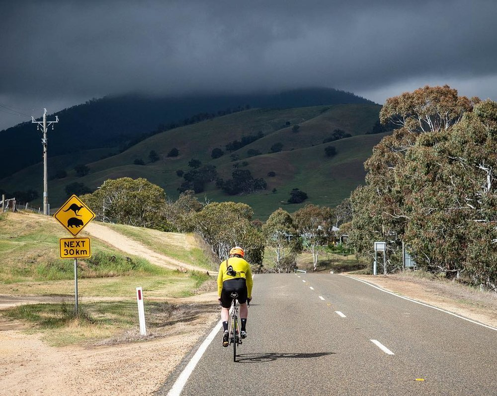 Rolling hills near Omeo. Photo: Beardy McBeardy