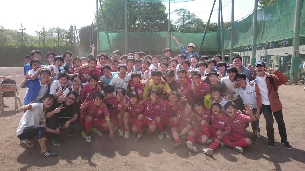 017.5.3 高校サッカー部都大会出場決定!