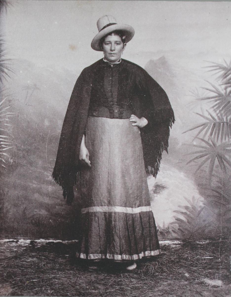 FEMME, Enest Bourgarel, 1892, Colombia