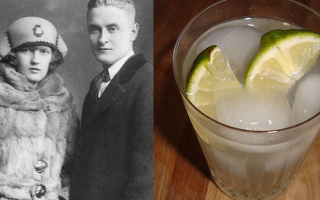 f scott fitzgerald drink quote
