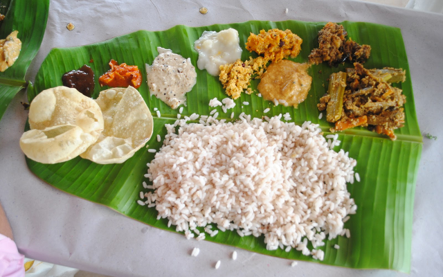 eat kerala food