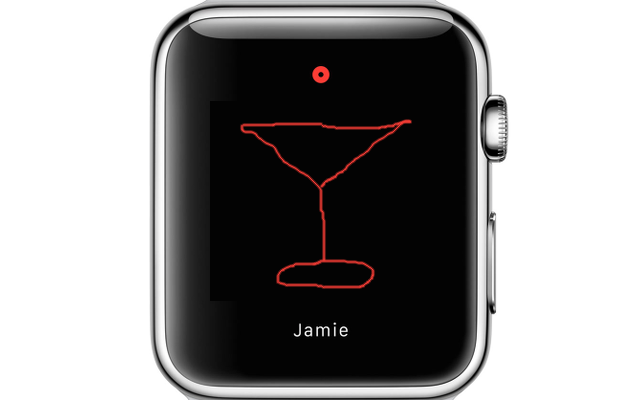 wordless communication apple watch