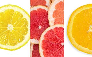 any citrus fruit to garnish