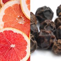 grapefruit junper berries to garnish