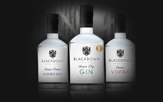 blackdown gin spirits sussex