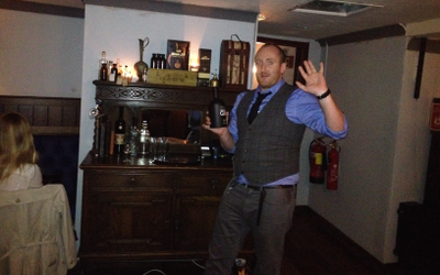 Nate Brown gets historic with Burleigh's Gin at Merchant House
