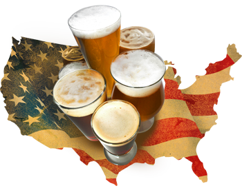 American craft beers
