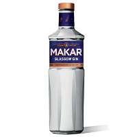 Makar Glasgow gin bottle