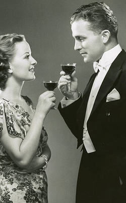 """Oh, my Valentine. We should drink gin all the time!"""