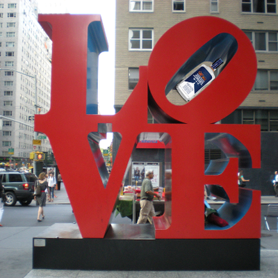 LOVE sculpture NYC