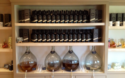 Cotswolds Distillery shop exclusives like espresso martini await thirsty and curious visitors.