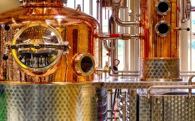 Lorelei, the Cotswolds Distillery's German gin still sings a sweet song of spirits.