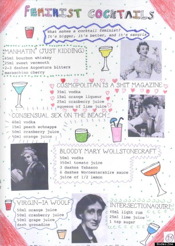 feminist cocktails