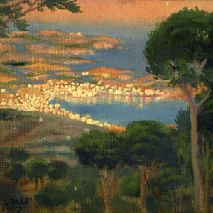 View of Cadaqués with Shadow of Mount Pani, 1921