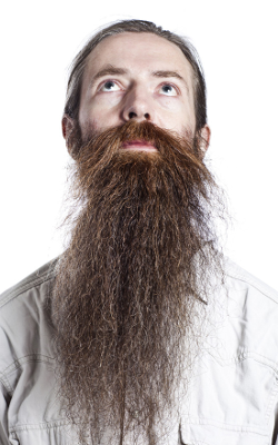 Aubrey de Grey: cracking the code on the secret of eternal facial hair