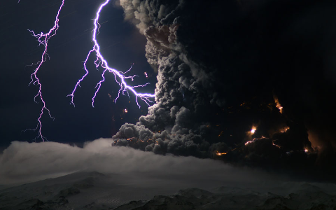 Eyjafjallajökull erupts!