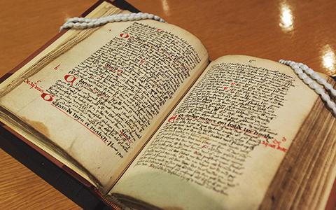 The original text ofgebrande wijn te maken from Sir Hans Sloane's collection. Image credit: Gin 1495