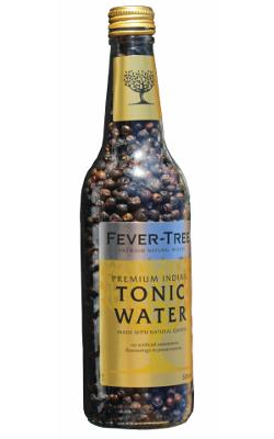 The bottle of Fever-Tree full of 1,694 juniper berries