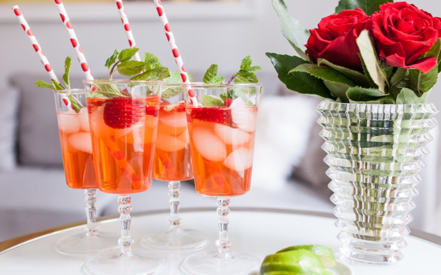 Add a little island breeze with this gin adaptation of the famous Cuban cocktail from Fashionable Hostess