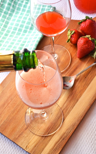 The perfect picnic drink for when you're lounging on Aorangi Terrace from Simple Seasonal