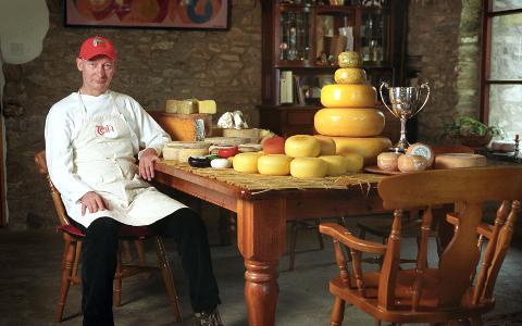 John Savage Onstwedder: organically chuffed for cheese
