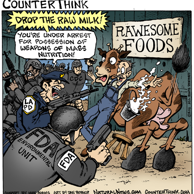 The war on cows. credit: Counterthink.com