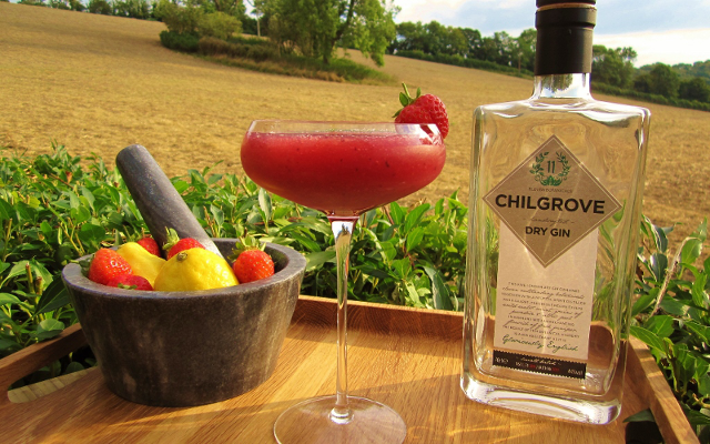 Chilgrove Dry Gin came up with this berry-licious cocktail to that works perfectly served for 2 or for 12