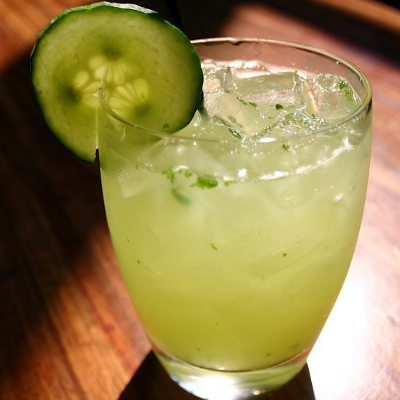 Although this cocktail emphasizes the cucumber, the chili and cilantro are too much for the delicate Hendrick's taste. Try a Plymouth-style craft gin instead.