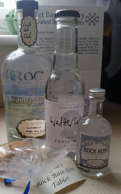 Club Member Vicky Powles shared this amazing picture of her surprise Rock Rose Gin parcel. Cheers Vicky!