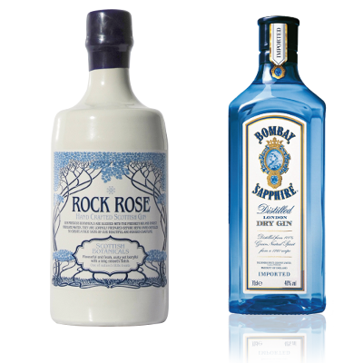 Which will be the most iconic gin bottle? We'll place our bet on the Rock Rose!