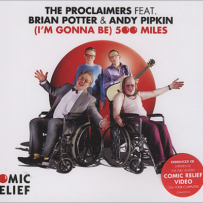 the proclaimers comic relief rock rose gin