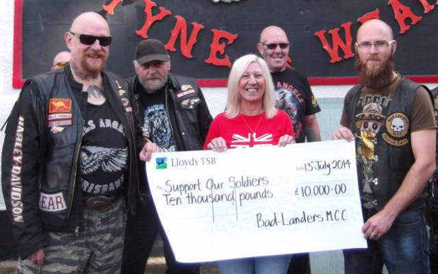 Benevolent Bikers: raising hell whilst raising cash