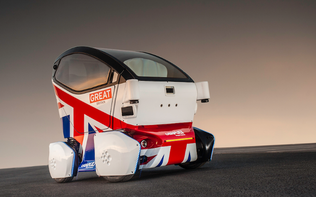 The Lutz Pod: already driving itself around several UK towns