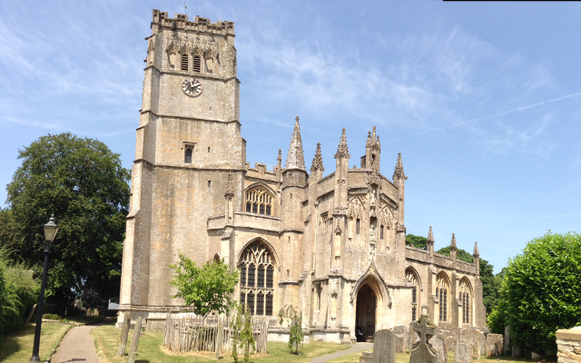 "The Cotswolds is populated by a number of churches known as ""wool churches"" in reference to the fact that their construction was funded primarily by money earned in the wool trade. Northleach Church (pictured) dates back to the 12th century and includes depictions of the wool trade."