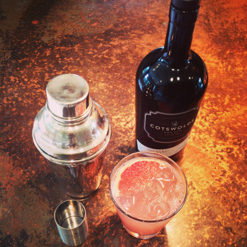A beautiful bespoke cocktail for our April 2015 Gin of the Month