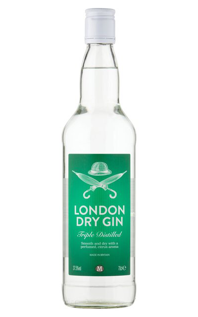 Gin-tentious? Morrison's No. 1 doesn't even need a clearly identifiable label.