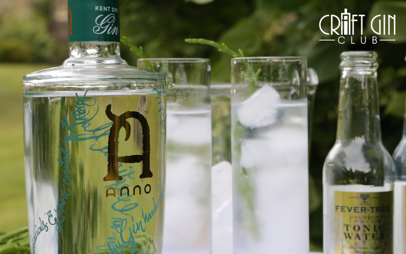 25ml Anno Kent Dry Gin 25ml Anno Elderflower&Vodka Premium tonic Method: Shake spirits in a shaker with ice. Strain into glass. Add tonic. Serve in a chilled goblet or highball glass. Garnish with samphire and elderflowers.