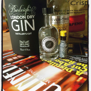 Thanks to club member Rachel Williams for this amazing pic of September 2015's Gin of the Month, Burleigh's!