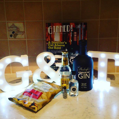 Craft Gin aficionado and club member Hazel McGibbon shows off her love for Gin & Tonics!