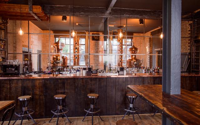 ELLC's distillery bar