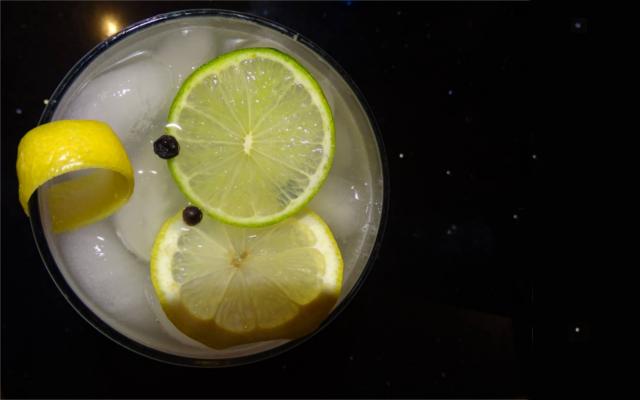Deep space gin