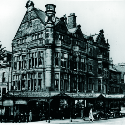 Harrogate's Café Imperial in its heyday