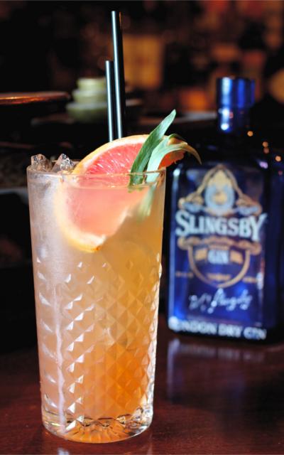 slingsby gin fizz