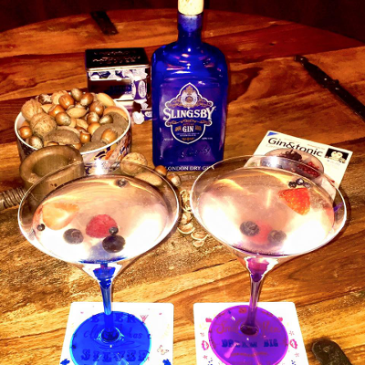 Louise Spencer - OMG&T Slingsby cocktail