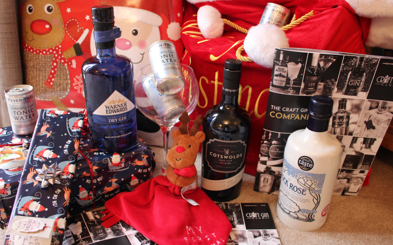 Craft Gin Club Christmas Hampers come with two or three bottles or our club members' favourite Gins of the Month of 2015, Fever Tree tonic water and our Craft Gin Club Companion.
