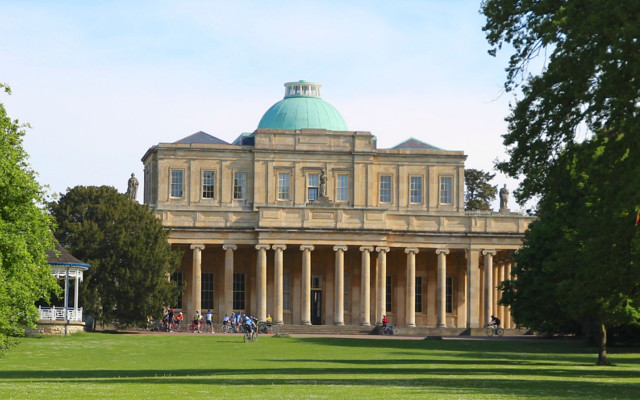The beautiful Pittville Pump Room