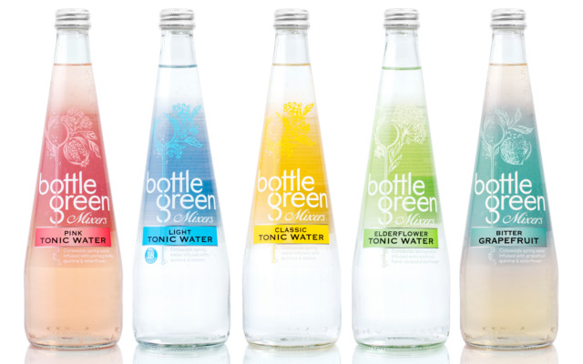 bottle green tonic water